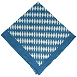 Breiter - Nickituch mit bayerischer Raute, Bayerntuch Trachtentuch, Tuch blau-weiß