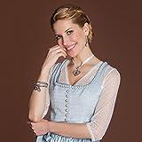 Damen Armkette Trachten-Anhänger altsilber-farben Alpenflüstern - 2