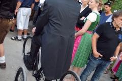 Kocherlball 2015 alte Fahrräder