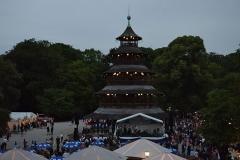 Kocherlball 2016 Blick auf den Chinaturm