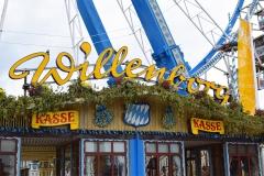 Riesenrad auf dem Oktoberfest 2015 München