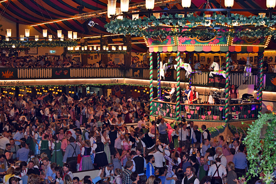 Marstall Festzelt Oktoberfest 2015