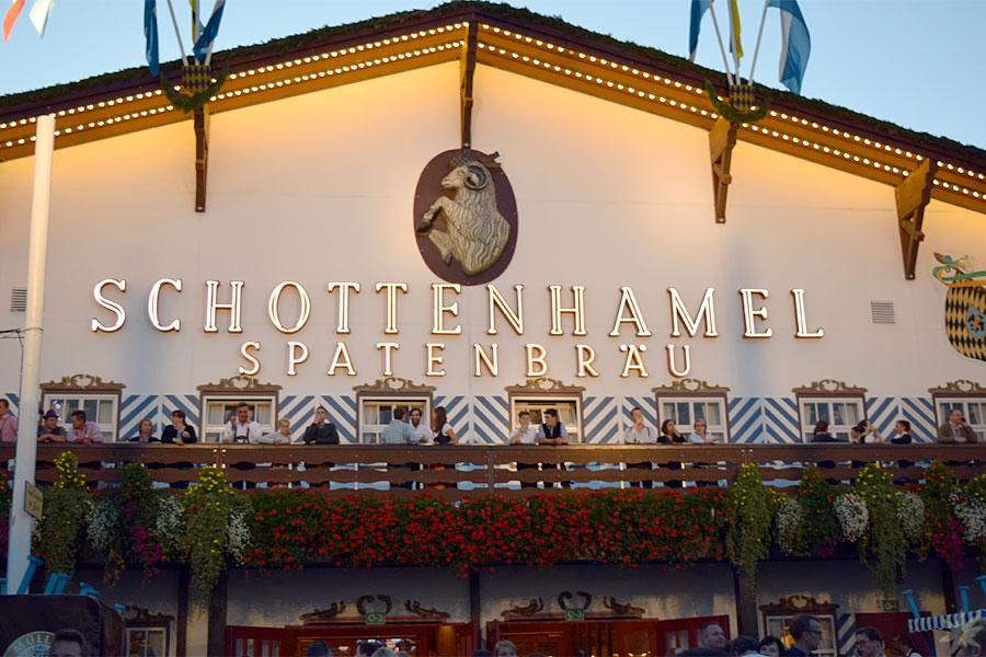 Schottenhamel Festzelt Aussen Wiesn 2015