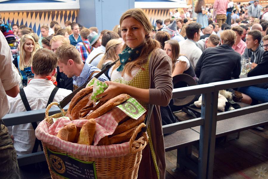 Schottenhamel Festzelt Brezn Wiesn 2015