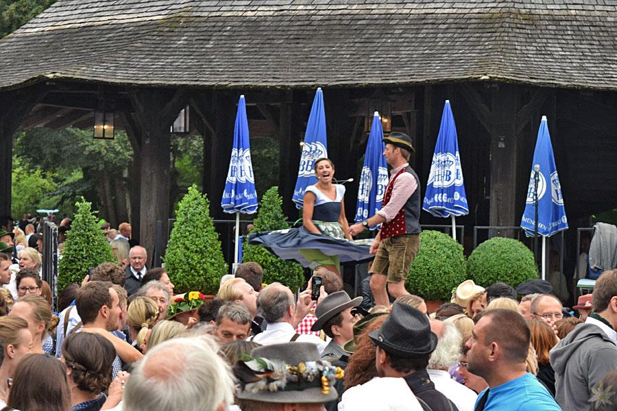 Kocherlball 2016  Tanzbühne