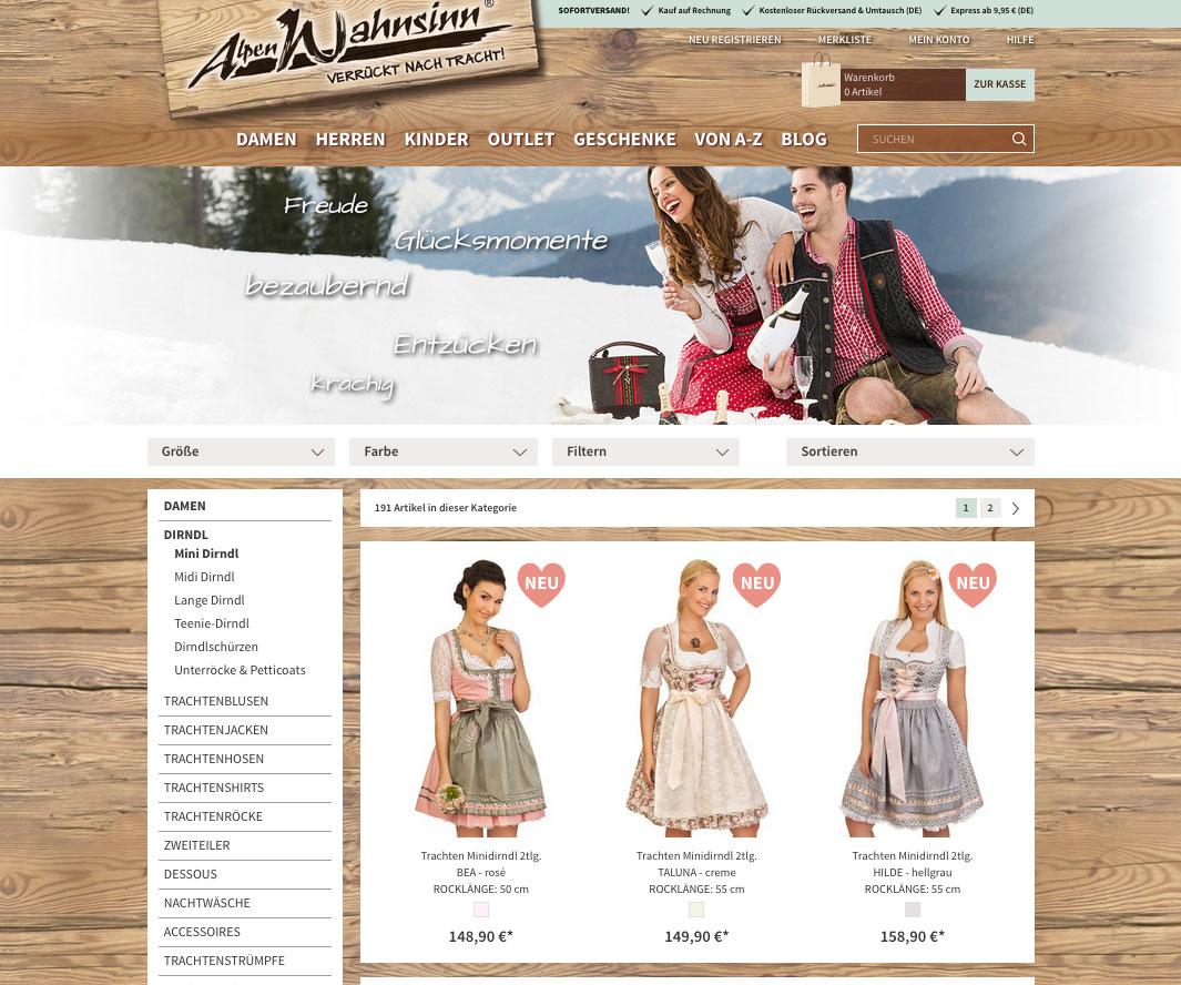 ee1e29ed3aa72 Alpenwahnsinn – Trachten Onlineshop für Damen und Herren